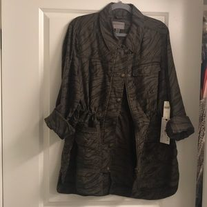 Beautiful rich luxurious finish lightweight jacket